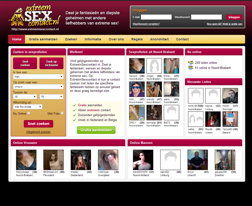 sex and dating sites buitensex